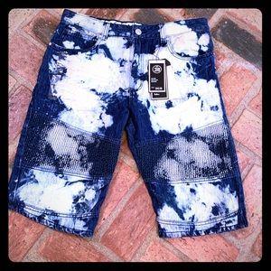 NWT Encrypted Shorts Size 38